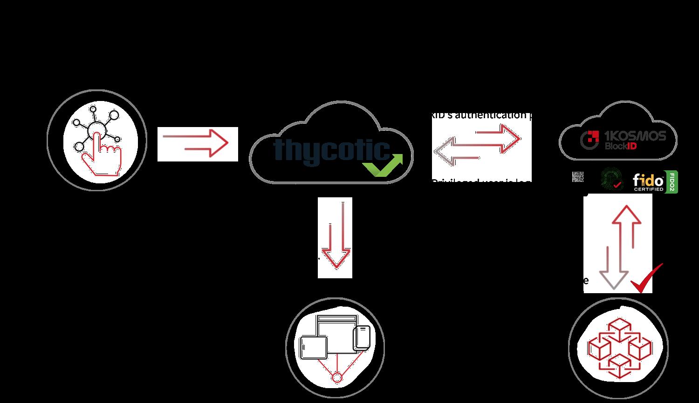Thycotic integration Diagram